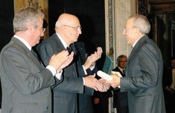 Cav.Orazio Boccia - Insignito come Cavaliere del Lavoro dal Presidente della Repubblica
