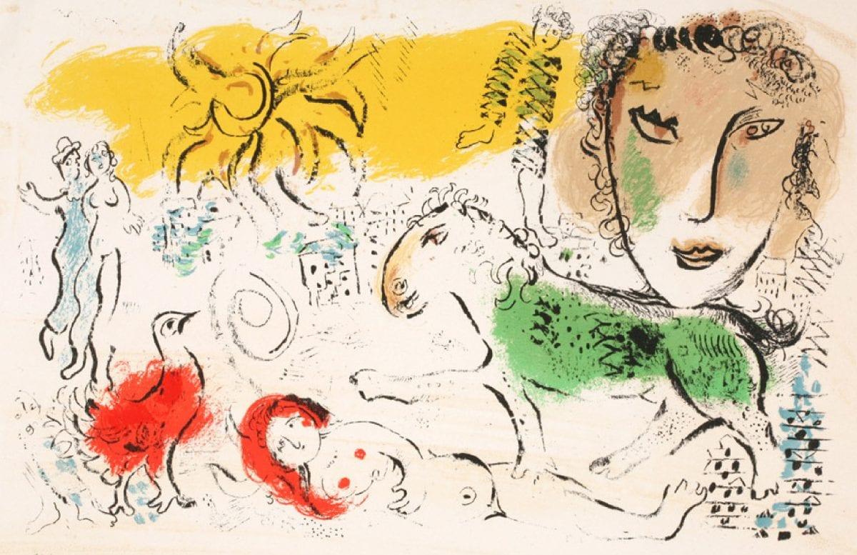 Marc Chagall - Segni e Colori dell'anima