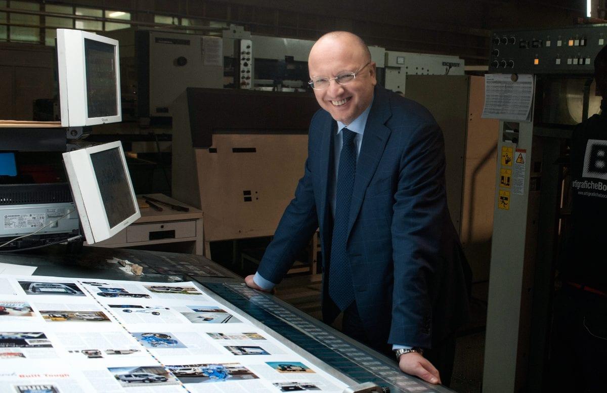 Vincenzo Boccia - Amm. Delegato di Arti Grafiche Boccia