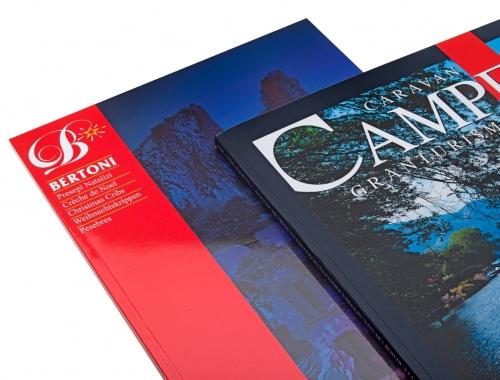 Stampa di riviste con Plastificazione Lucida e Opaca