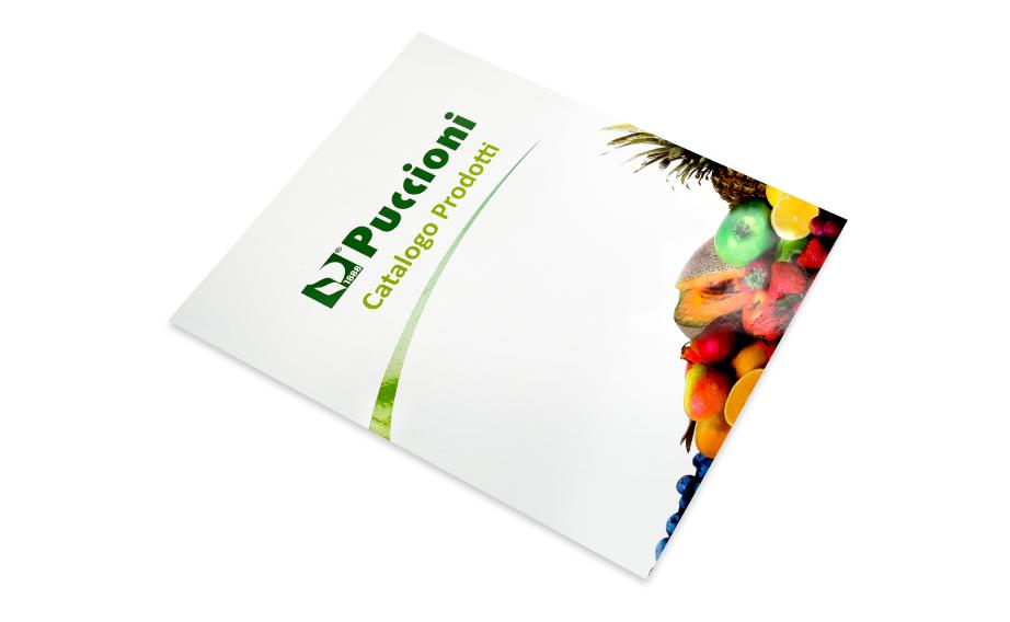 Cataloghi con verniciatura UV serigrafica