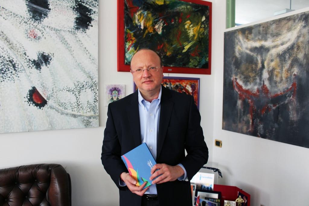 Vincenzo Boccia con Diario Tremenda 2020